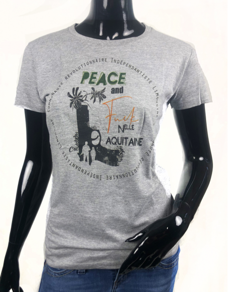 PEACE AND FUCK FEMME